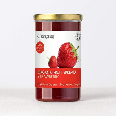 Clearspring Fruit Spread- Strawberry Jams & Spreads Radiant-Whole-Food-Organic-Delivery KL-PJ-Malaysia