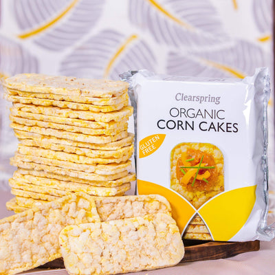 Clearspring Puffed Corn Cake Confectionary Radiant-Whole-Food-Organic-Delivery KL-PJ-Malaysia