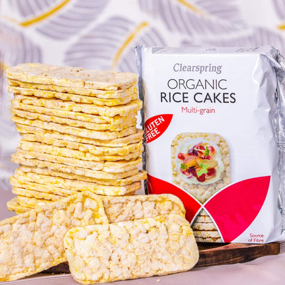 Clearspring Puffed Rice Cake-Multigrain Confectionary Radiant-Whole-Food-Organic-Delivery KL-PJ-Malaysia