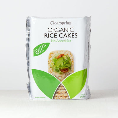 Clearspring Puffed Rice Cakes - No Added Salt Confectionary Radiant-Whole-Food-Organic-Delivery KL-PJ-Malaysia