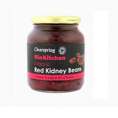 Clearspring Bottled Red Kidney Beans