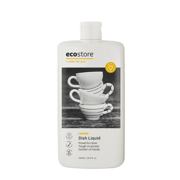 Ecostore Dishwash Liquid - Lemon Dishwashing & Cleaning Radiant-Whole-Food-Organic-Delivery KL-PJ-Malaysia