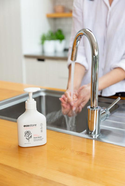 Ecostore Hand Wash Pump - Rose & Geranium Hand Wash Radiant-Whole-Food-Organic-Delivery KL-PJ-Malaysia