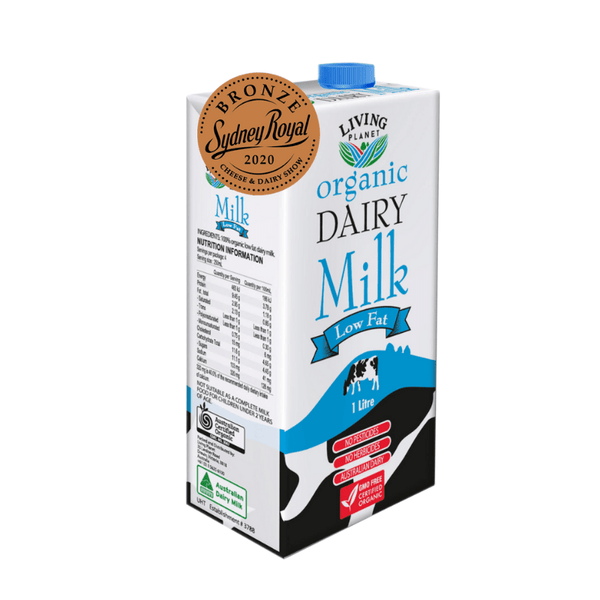 Living Planet Low Fat Dairy Milk Non-Dairy Milk Radiant-Whole-Food-Organic-Delivery KL-PJ-Malaysia