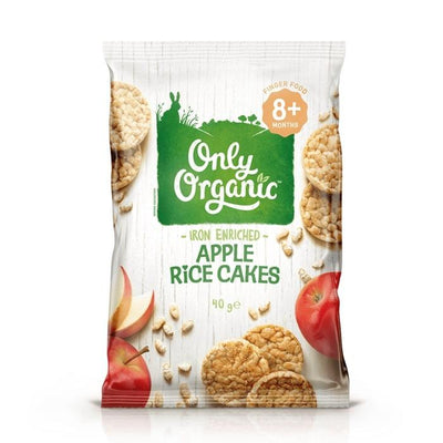 Only Organic Baby Banana Apple Rice Cakes Baby Snacks Radiant-Whole-Food-Organic-Delivery KL-PJ-Malaysia