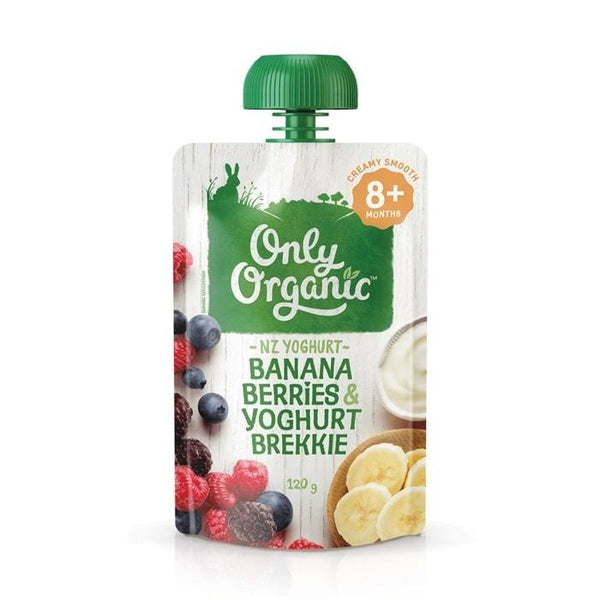 Only Organic Banana Berries & Yogurt Baby Pouches Radiant-Whole-Food-Organic-Delivery KL-PJ-Malaysia