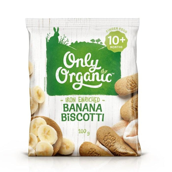 Only Organic Banana Biscotti Baby Snacks Radiant-Whole-Food-Organic-Delivery KL-PJ-Malaysia
