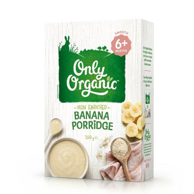 Only Organic Banana Porridge (Box) Baby Meals Radiant-Whole-Food-Organic-Delivery KL-PJ-Malaysia