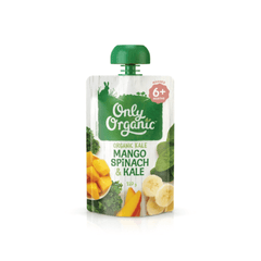 Only Organic Mango Spinach Kale Baby Pouches Radiant-Whole-Food-Organic-Delivery KL-PJ-Malaysia