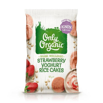 Only Organic Strawberry Yogurt Rice Cake Baby Snacks Radiant-Whole-Food-Organic-Delivery KL-PJ-Malaysia