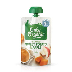 Only Organic Sweet Potato And Apple Baby Pouches Radiant-Whole-Food-Organic-Delivery KL-PJ-Malaysia
