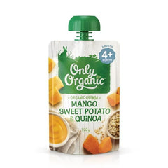 Only Organic Sweet Potato Mango & Quinoa Baby Pouches Radiant-Whole-Food-Organic-Delivery KL-PJ-Malaysia