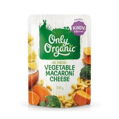 Only Organic Vegetable Macaroni & Cheese Pasta Baby Meals Radiant-Whole-Food-Organic-Delivery KL-PJ-Malaysia
