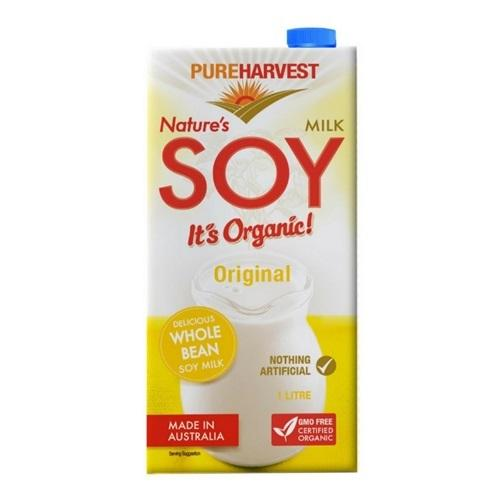 Pure Harvest Nature'S Soy Original Non-Dairy Milk Radiant-Whole-Food-Organic-Delivery KL-PJ-Malaysia