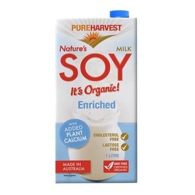 Pure Harvest Natures Soy Enriched Non-Dairy Milk Radiant-Whole-Food-Organic-Delivery KL-PJ-Malaysia