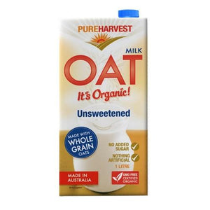 Pure Harvest Oat Milk Unsweetened