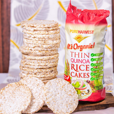 Pure Harvest Organic Thin Quinoa Rice Cakes Confectionary Radiant-Whole-Food-Organic-Delivery KL-PJ-Malaysia