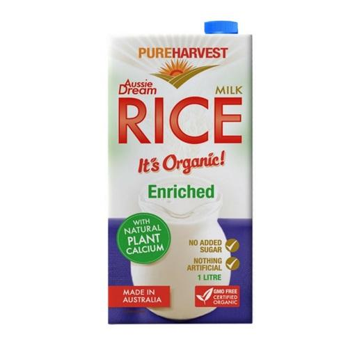 Pure Harvest Rice Milk Aussie With Calcium Non-Dairy Milk Radiant-Whole-Food-Organic-Delivery KL-PJ-Malaysia