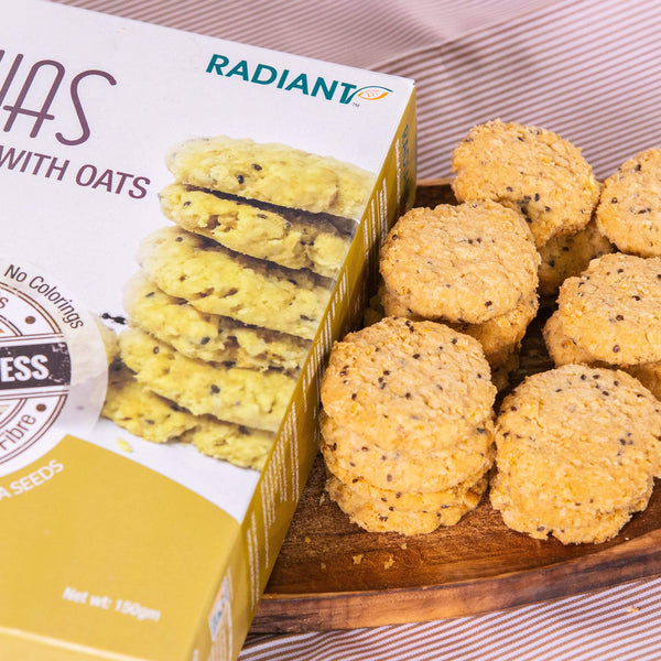 Radiant Chias Cookies With Oats Confectionary Radiant-Whole-Food-Organic-Delivery KL-PJ-Malaysia