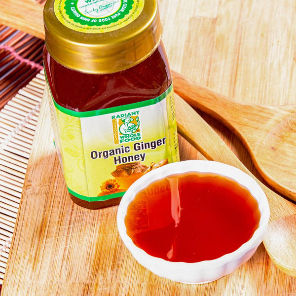 Radiant Ginger Honey 500g Honey Radiant-Whole-Food-Organic-Delivery KL-PJ-Malaysia