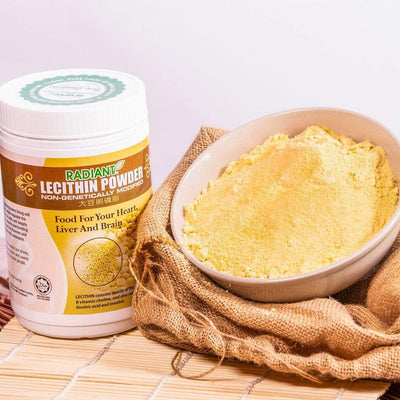 Radiant Lecithin Powder Supplements Radiant-Whole-Food-Organic-Delivery KL-PJ-Malaysia