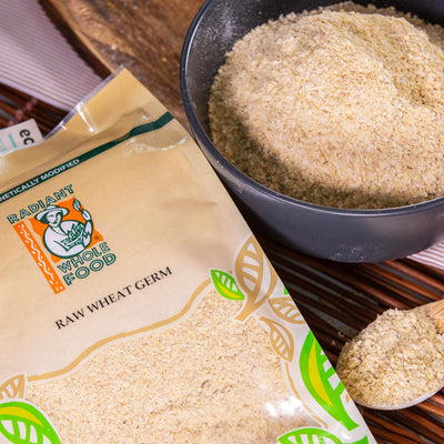 Radiant Natural Raw Wheat Germ Cereal, Flakes & Puffs Radiant-Whole-Food-Organic-Delivery KL-PJ-Malaysia