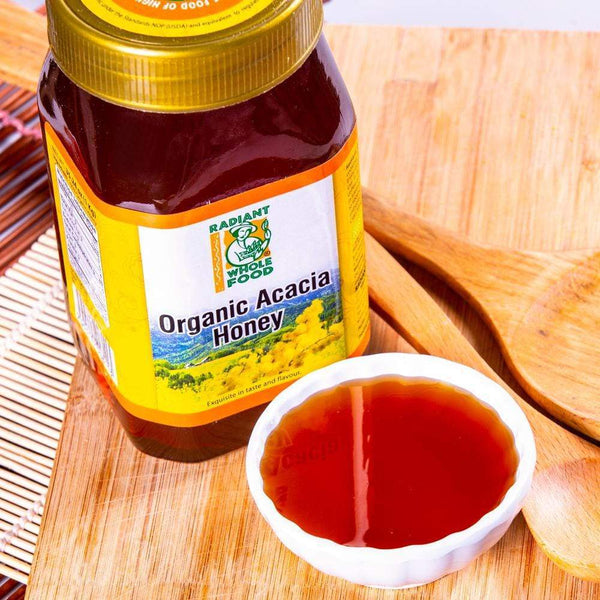 Radiant Organic Acacia Honey 1kg Honey Radiant-Whole-Food-Organic-Delivery KL-PJ-Malaysia