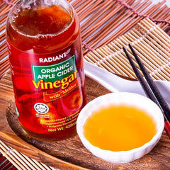 Radiant Organic Apple Cider Vinegar 425ml Vinegar Radiant-Whole-Food-Organic-Delivery KL-PJ-Malaysia