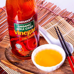 Radiant Organic Apple Cider Vinegar 750ml Vinegar Radiant-Whole-Food-Organic-Delivery KL-PJ-Malaysia