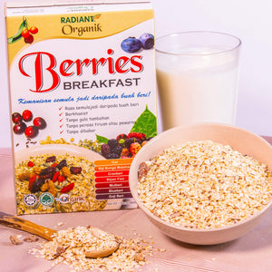 Radiant Organic Berries Breakfast