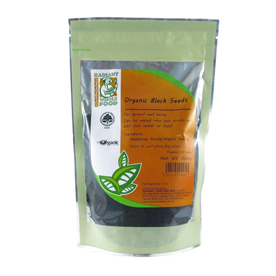 Radiant Organic Black Seeds Nuts and Seeds Radiant-Whole-Food-Organic-Delivery KL-PJ-Malaysia