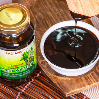 Radiant Organic Black Strap Molasses Sugar & Sweetener Radiant-Whole-Food-Organic-Delivery KL-PJ-Malaysia