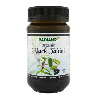 Radiant Organic Black Tahini Jams & Spreads Radiant-Whole-Food-Organic-Delivery KL-PJ-Malaysia
