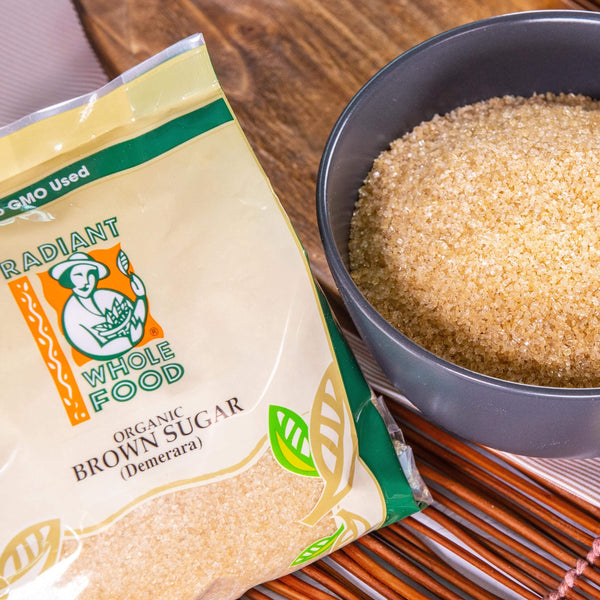 Radiant Organic Brown Sugar Sugar & Sweetener Radiant-Whole-Food-Organic-Delivery KL-PJ-Malaysia