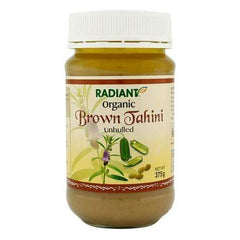 Radiant Organic Brown Tahini - Unhulled Jams & Spreads Radiant-Whole-Food-Organic-Delivery KL-PJ-Malaysia