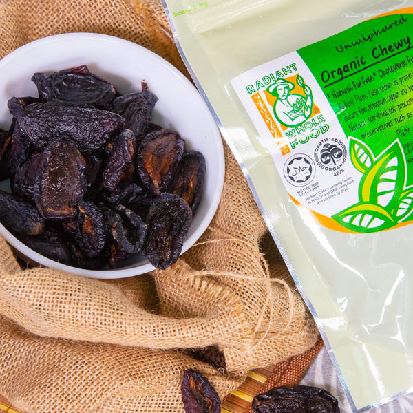 Radiant Organic Chewy Plums Dried Fruit Radiant-Whole-Food-Organic-Delivery KL-PJ-Malaysia