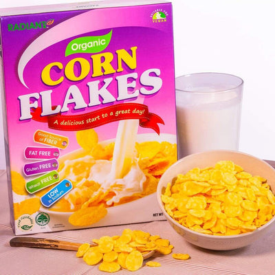 Radiant Organic Corn Flakes Cereal, Flakes & Puffs Radiant-Whole-Food-Organic-Delivery KL-PJ-Malaysia