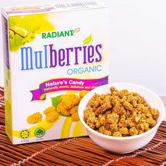 Radiant Organic Dried Mulberries Dried Fruit Radiant-Whole-Food-Organic-Delivery KL-PJ-Malaysia