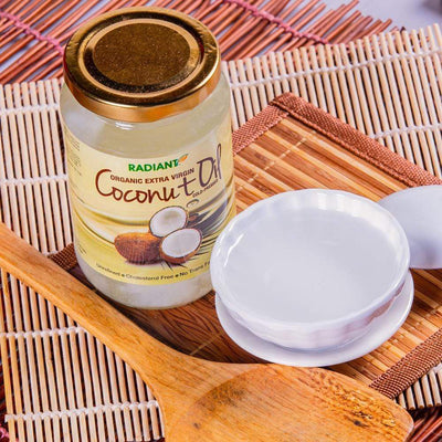 Radiant Organic Extra Virgin Coconut Oil, 350ml Cooking Oil Radiant-Whole-Food-Organic-Delivery KL-PJ-Malaysia