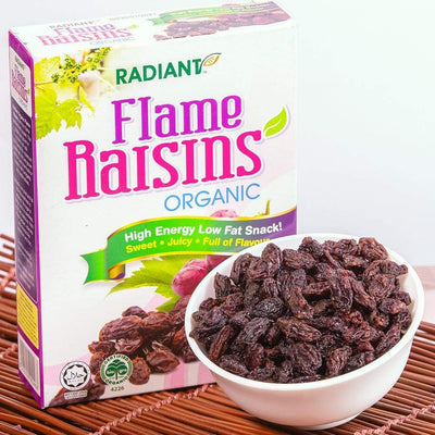 Radiant Organic Flame Raisins Dried Fruit Radiant-Whole-Food-Organic-Delivery KL-PJ-Malaysia