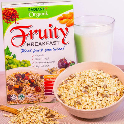 Radiant Organic Fruity Breakfast Cereal, Flakes & Puffs Radiant-Whole-Food-Organic-Delivery KL-PJ-Malaysia