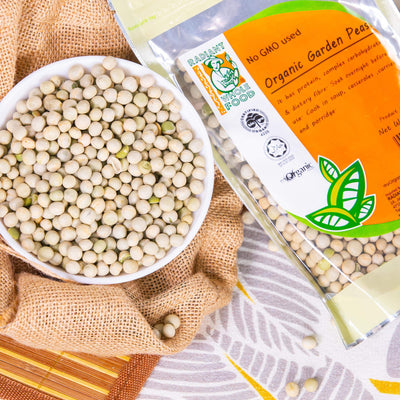 Radiant Organic Garden Pea Beans & Pulses Radiant-Whole-Food-Organic-Delivery KL-PJ-Malaysia