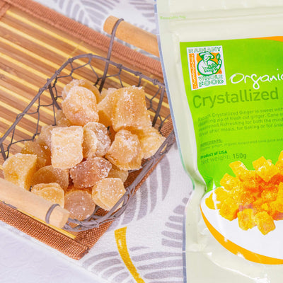 Radiant Organic Ginger Chunks Confectionary Radiant-Whole-Food-Organic-Delivery KL-PJ-Malaysia