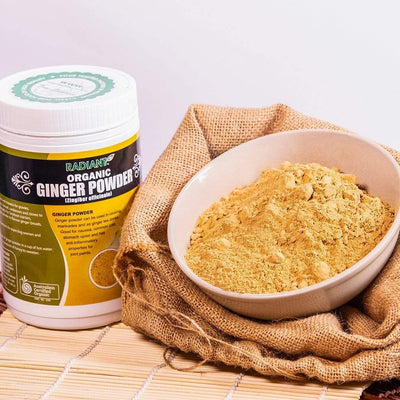 Radiant Organic Ginger Powder Supplements Radiant-Whole-Food-Organic-Delivery KL-PJ-Malaysia