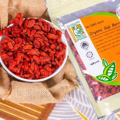 Radiant Organic Goji Berry Dried Fruit Radiant-Whole-Food-Organic-Delivery KL-PJ-Malaysia