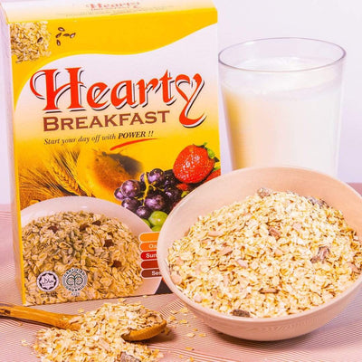 Radiant Organic Hearty Breakfast Cereal, Flakes & Puffs Radiant-Whole-Food-Organic-Delivery KL-PJ-Malaysia