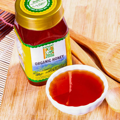 Radiant Organic Honey 500g Honey Radiant-Whole-Food-Organic-Delivery KL-PJ-Malaysia