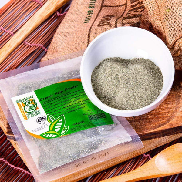 Radiant Organic Kelp Powder Condiments Radiant-Whole-Food-Organic-Delivery KL-PJ-Malaysia