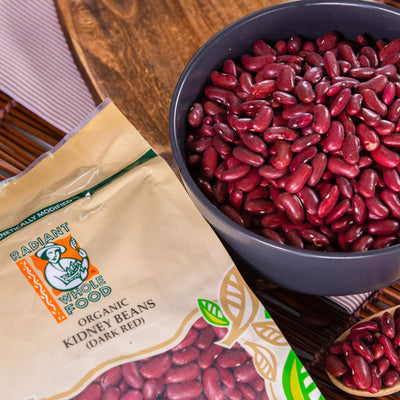 Radiant Organic Kidney Bean Beans & Pulses Radiant-Whole-Food-Organic-Delivery KL-PJ-Malaysia