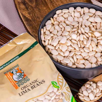 Radiant Organic Lima Beans Beans & Pulses Radiant-Whole-Food-Organic-Delivery KL-PJ-Malaysia